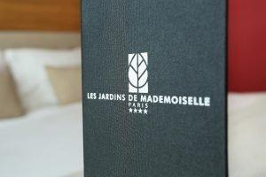 chambre 14 Hôtel Les Jardins de Mademoiselle Paris