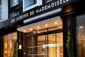 terrasse de nuit Hôtel Les Jardins de Mademoiselle Paris